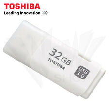 Toshiba Hayabusa 32GB Trans USB 3.0 White Flash Drive Disk Memory Stick U301