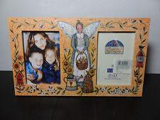 Burnes of Boston Susan Winget Folk Art - Double 3 1/2 x 5 Photo/Picture Frame