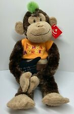 """""""Cheeky Charlie"""" Rock Star Edition - Classic Hanging Chimp Monkey by Aurora"""