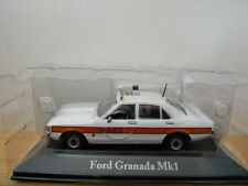 BNIB Sealed Atlas Editions Die-Cast Ford Granada Mk1 Police Car Scale 1:43