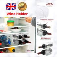 1 Pc Wine Rack Holder in Fridge Safe Kitchen Storage Free Standing Bottle Trays