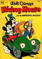 Walt Disney's MICKEY MOUSE #427 DELL Oct-Nov 1952 VG+