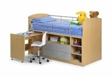 Solid Storage Beds with Mattresses for Children