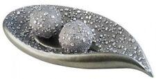 Twilight Decorative Bowl Spheres Gem Accent Home Display Stunning Design Silver
