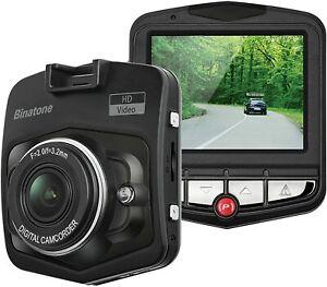 "Binatone DC200 HD Car Dash Cam 720p 2.4"" Screen 12 Degree View Angle"