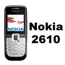 NOKIA 2610 - NEW - Unlocked Mobile Phone - UK Warranty - Free Sim