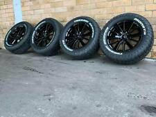 MITSUBISHI TRITON 18 INCH GENUINE WHEELS AND NEW TYRES