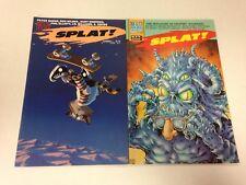 Splat! #1 2 3 1987 Peter Bagge Hate J.R. Williams Alan Moore
