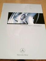 Prospekt  Mercedes Benz + AMG Leichtmetallräder   1999 Brochure