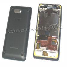 HTC HD Mini T5555 Black Battery Cover Housing Fascia case Middle Plate New UK