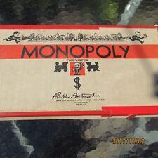 VTG 1941-1946 MONOPOLY Parker Brothers Real Estate Trading Game