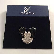 Signed Swan Swarovski DISNEY Mickey Mouse Brooch Pin