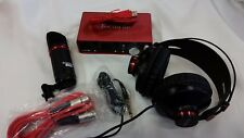 Focusrite Perfect Recording Scarlett Studio-2 2i2 USB Pack w/ Mic and Headphones