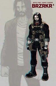 BRZRKR #1 4th Print Design Variant Keanu Boom Comics