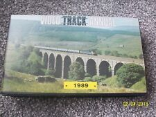 Video Track Annual 1989 VHS Video Railway Network Enthusiast Trains