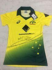 SIGNED Women's Australian Cricket Jersey By Mitchell Starc And Alyssa Healy