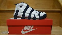 """2016 Nike Air More Uptempo """"Olympic"""" 414962-104 GS & MEN Size: 4y-13 Pippen New"""