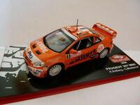 voiture 1/43 IXO altaya Rallye Monte Carlo peugeot 307 WRC orange 2006 SOLBERG