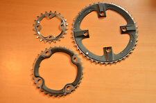 Shimano XTR M970 triple Chainrings Chainring Rings 44/32/22 9s 104/64 BCD