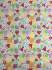 Brightly Coloured Fruit Medley Riley Blake Fabric FQ + More 100% Cotton