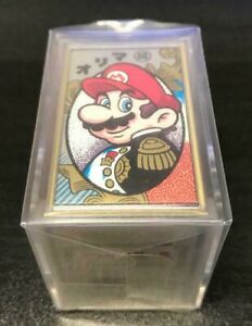 Super Mario Hanafuda Nintendo Playing Cards Traditional card japan BLACK ver.