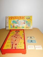 VINTAGE TOY GAME 1965 MILTON BRADLEY SMOKING DOCTOR OPERATION GAME