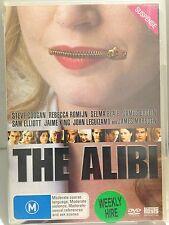 THE ALIBI - STEVE COOGAN, REBECCA ROMIJN... (R4 - VERY GOOD) - DVD #257