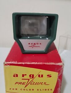VINTAGE ARGUS PRE-VIEWER RETRO FOR COLORED SLIDES -RETO DECOR - 1960'S