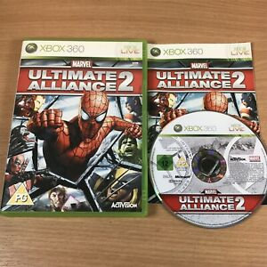 Marvel Ultimate Alliance 2 XBOX 360 - PAL Complete - Free UK P&P