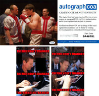 "AARON ECKHART signed Autographed ""BLEED FOR THIS"" 8X10 PHOTO - PROOF - ACOA COA"