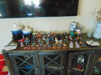 Disney Infinity Lot 44 Figures Marvel Star Wars & 17 discs 3.0 & 2 xbox portals