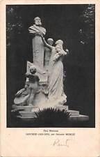 Embossed: Parc Monceau Gounod (1818-1893) Antonin Mercie, Sculpture, Statues