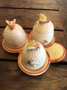 Marutomoware Bee Cruet Set AF Made In Japan