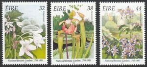 Ireland, 1995 Bicentenary of Botanical Gardens. SG 973-5 Unmounted Mint MNH