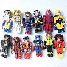 12pcs Marvel Minimates Figure Spiderman Wolverine Captain X-man Spider-woman Toy