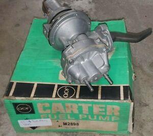 M2898 Carter Mechanical Fuel Vacuum Pump 55-59 Ford 272 292 312 332 V8 Mercury