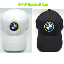 NEW BMW Cap Baseball Stylish Hat Car Adults Golf Embroidery Black White Snapback