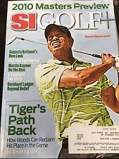 SI Golf Plus 4/5/2010 Tiger Woods The Masters Preview Sports Illustrated +