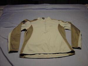 Women LOUIS GARNEAU Cyclist/ Bike Long Sleeve Jersey  Size P/S