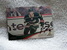Minnesota Wild Chad Rau Signed 11/12 Pinnacle Rookie Card Auto