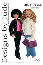 Edgy Style Jacket & Pants Doll Clothes Sewng Pattern Ellowyne Wilde Tonner