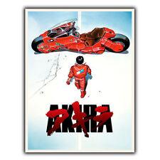 AKIRA MANGA ANIME SIGNAL MÉTALLIQUE PLAQUE MURALE Film Affiche publicitaire art