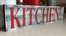 KITCHEN farmhouse wood sign kitchen farm house wood sign wood sign small 12""