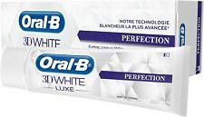 Oral-B 3d White Luxe Perfection Toothpaste Whitening Enamel Protect 75ml X 3