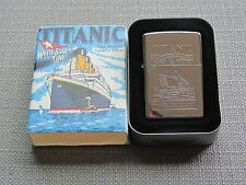 ZIPPO TITANIC  Lighter NEW old Stock 1994 Edition