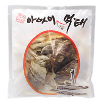 120g Korean-Style Dried Pollack 100% Korean Snack Soft Chewy Delicious_IC