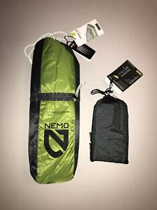 Nemo Hornet 2p Ultralight Backpacking Tent W/ Footprint Included