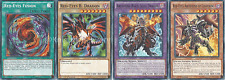 Red-Eyes B. Dragon Deck - Flare Metal Dragon - Archfiend - 45 Cards + Bonus