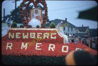 Pretty Woman Float Newberg Oregon Portland 1950s 35mm Slide Red Kodachrome
