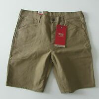 NEW Levi's 545 Workwear Shorts Men's Sz 30, 33, 34, 40 Brown RRP $89.95
